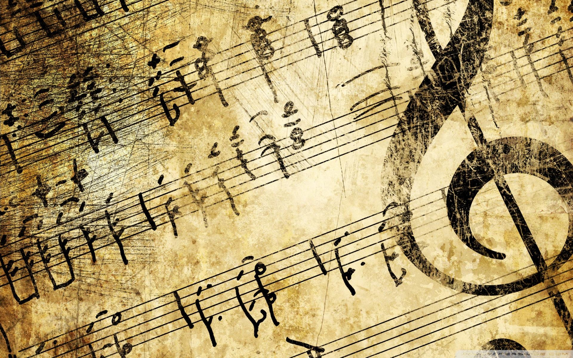 Black and white Music Notes wallpaper inspirationz