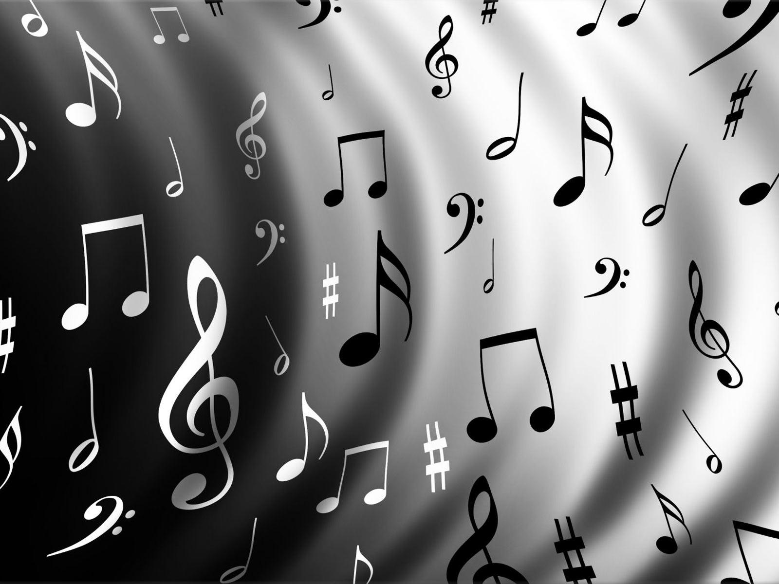 music notes HD wallpaper Wallpaper