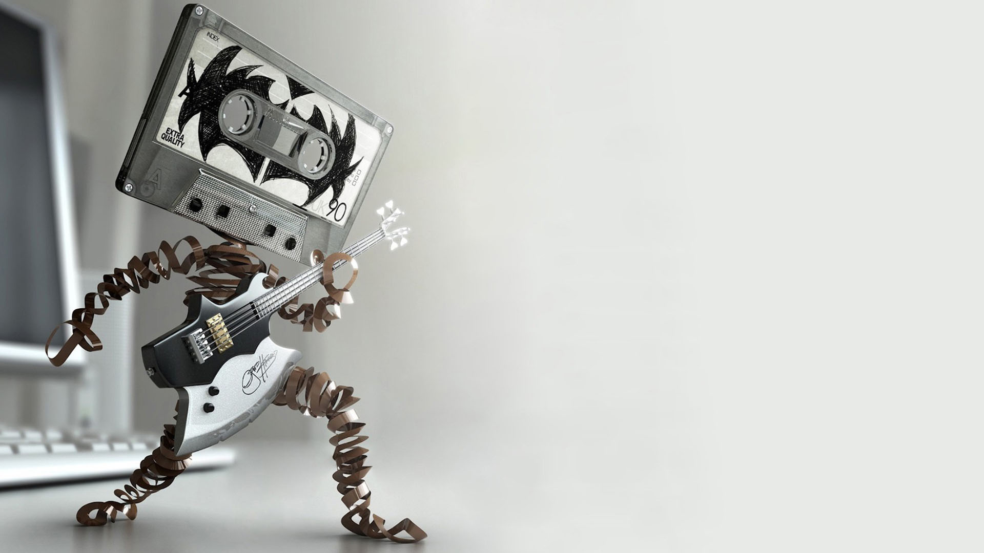 ... Wallpaper Desktop 3d Hd Music 02 ...