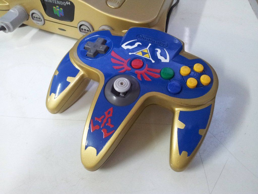 After seeing that setup, I can only wish I had that for my N64 experience. What do you guys think of this? Would you go back to playing Ocarina of Time or ...