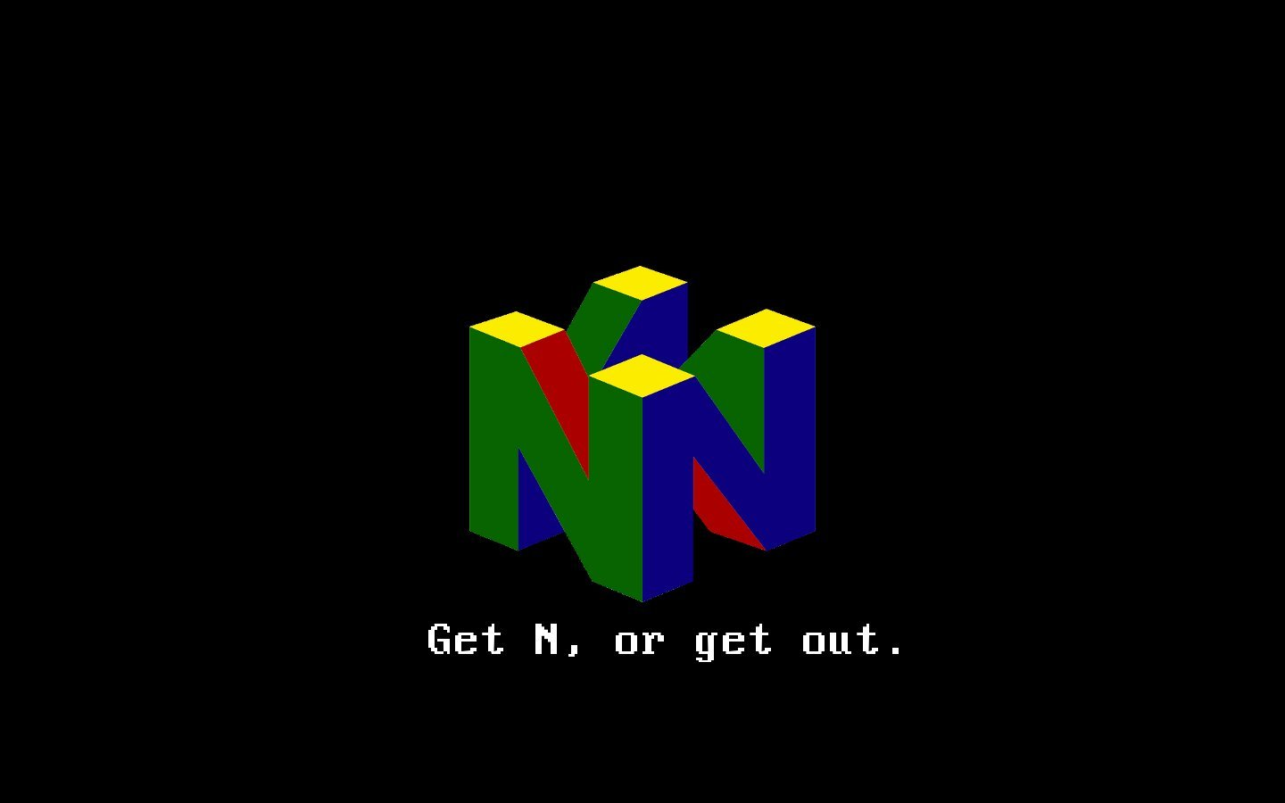 n64 Logo Wallpaper