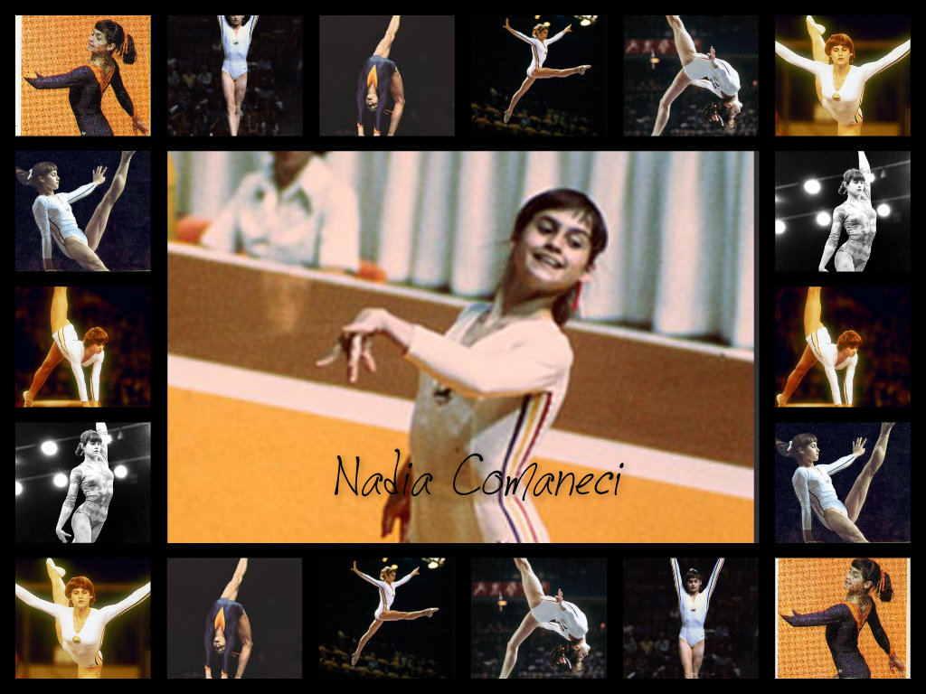 Nadia Comaneci Collage