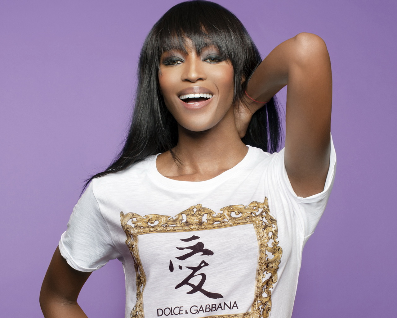 naomi campbell dolce gabanna hd wallpapers