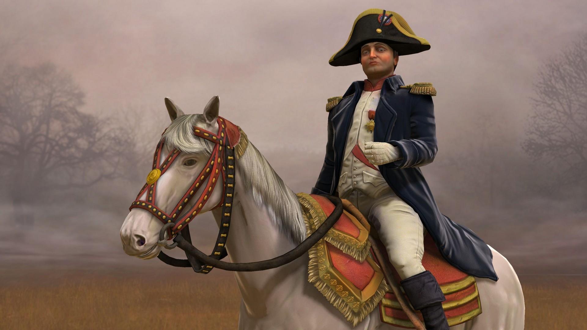 Civilization 5, Napoleon On His Horse Marengo 1920x1080 HD