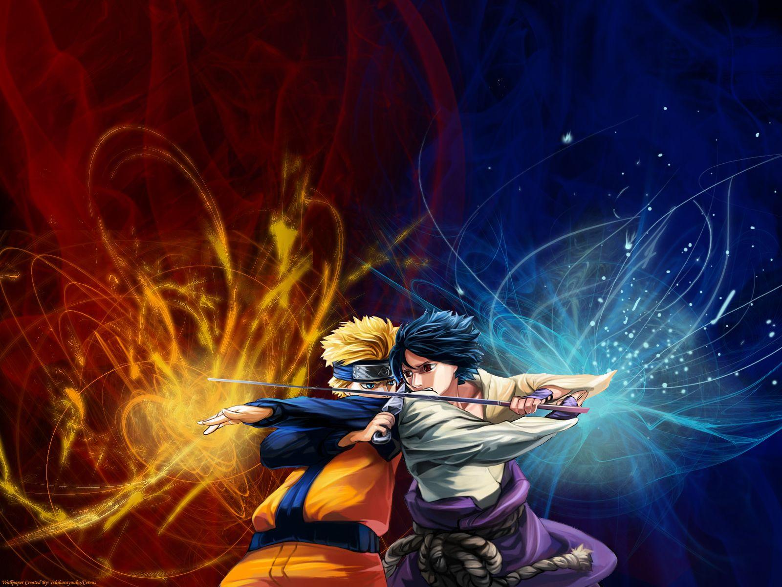 Naruto Vs Sasuke Wallpapers (2)