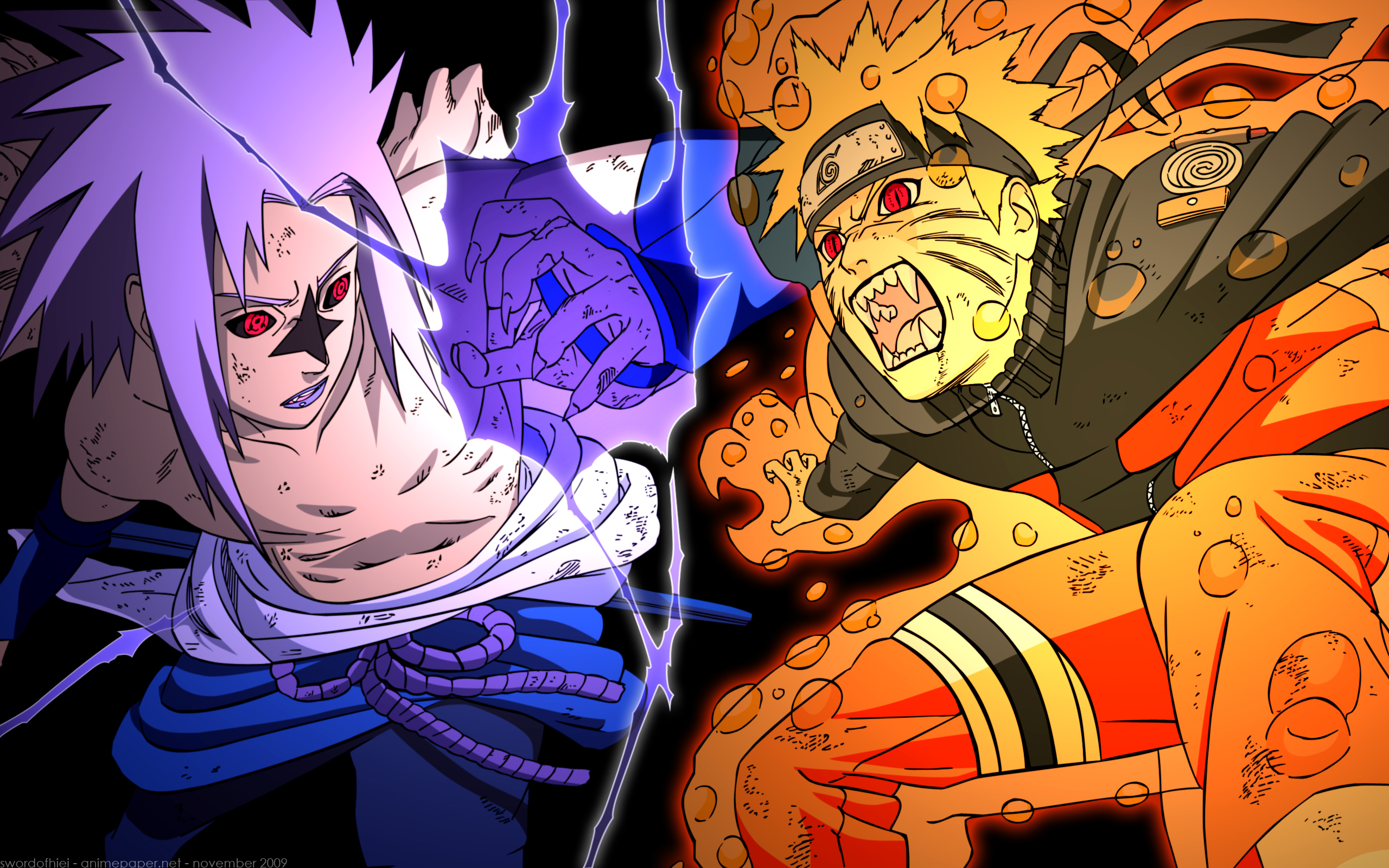 Naruto Res: 2560x1600 / Size:2476kb. Views: 18568
