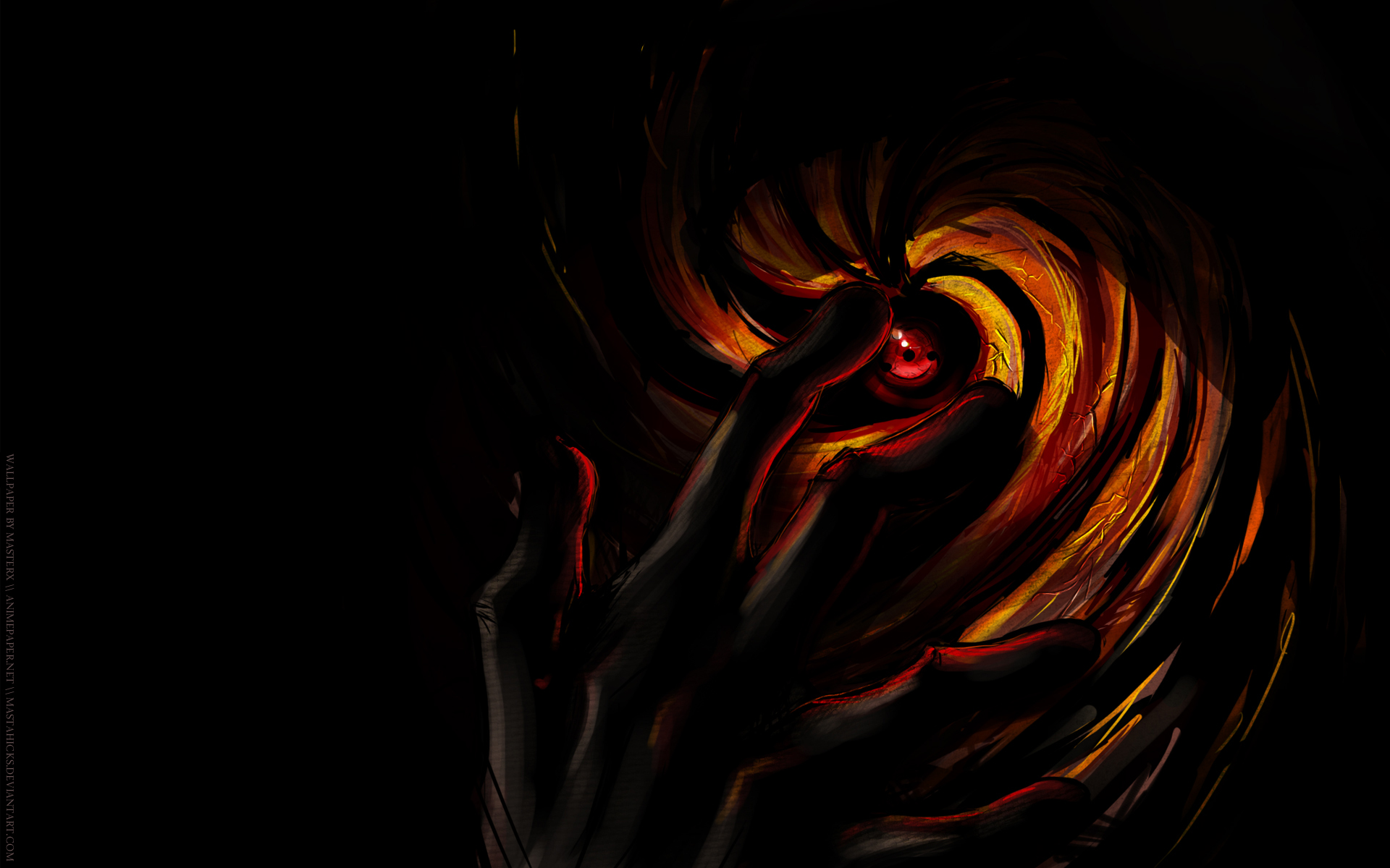 Dark anime wallpaper 1920x1200 59372 - Dark anime background ...