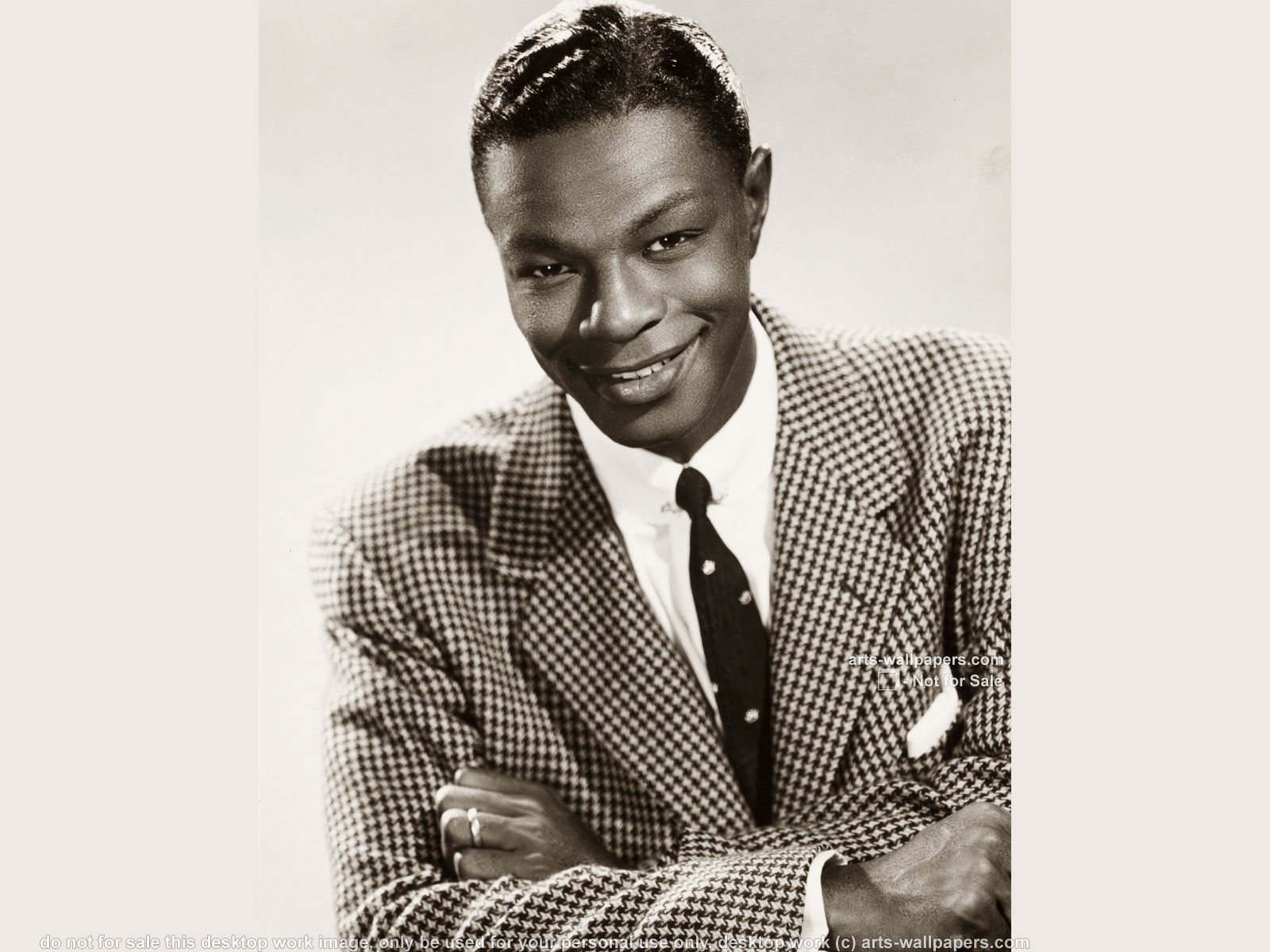 ... x 1050 ]. Nat 'King' Cole Wallpapers