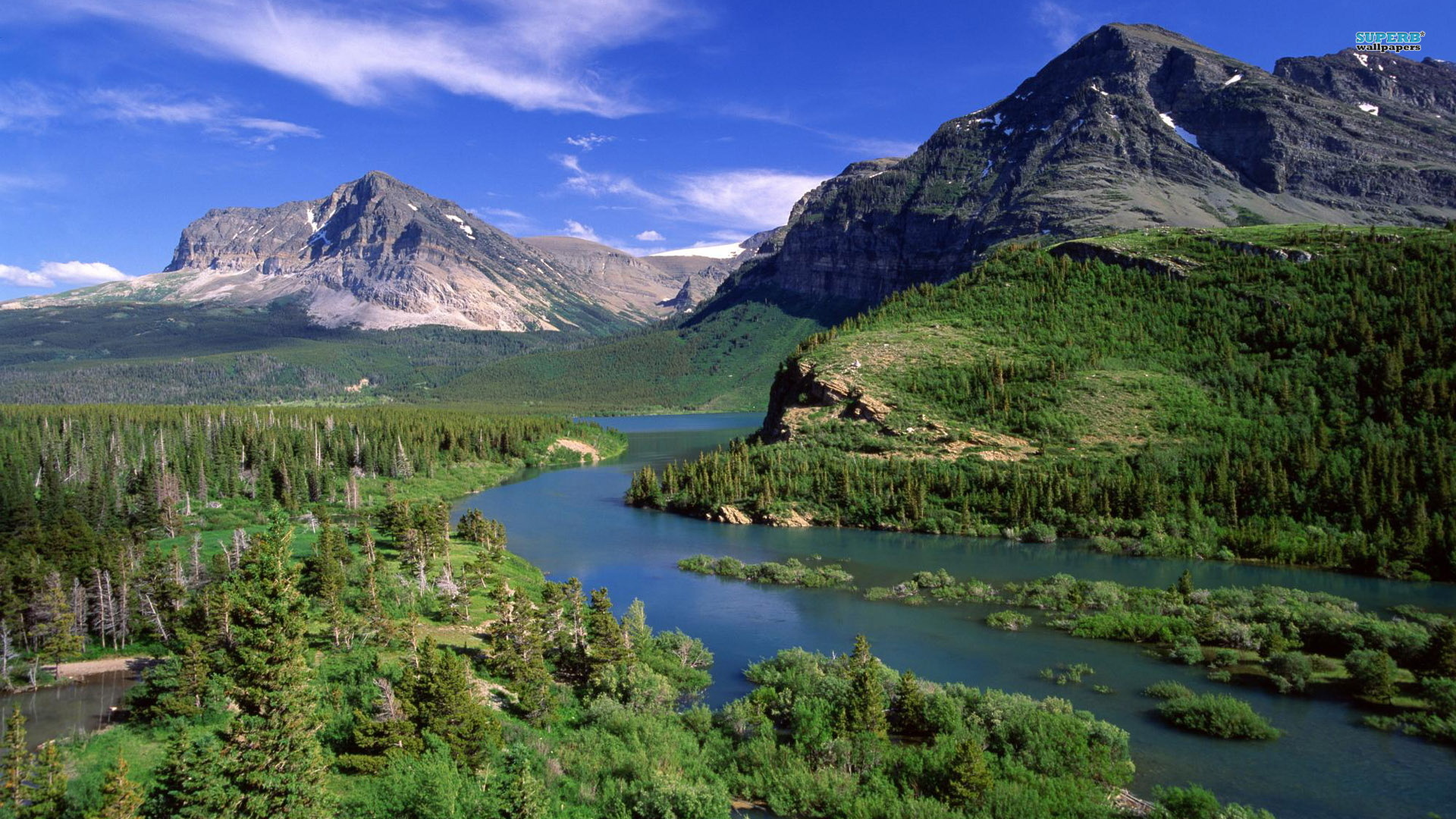 Glacier National Park wallpaper 1920x1080 jpg