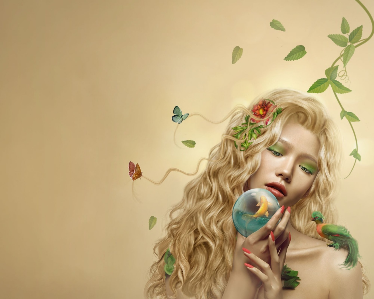 Nature Girl Art