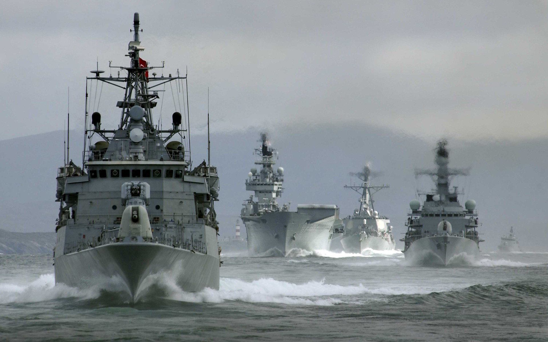 Navy Wallpaper