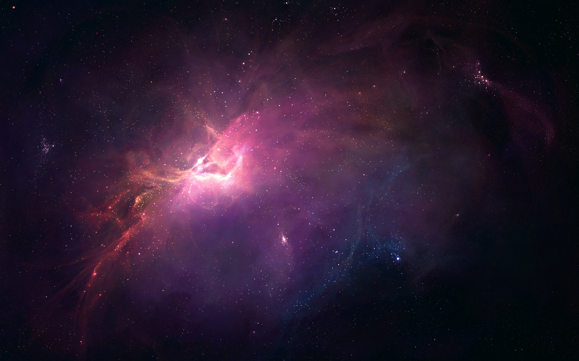 Stunning Nebula Wallpaper