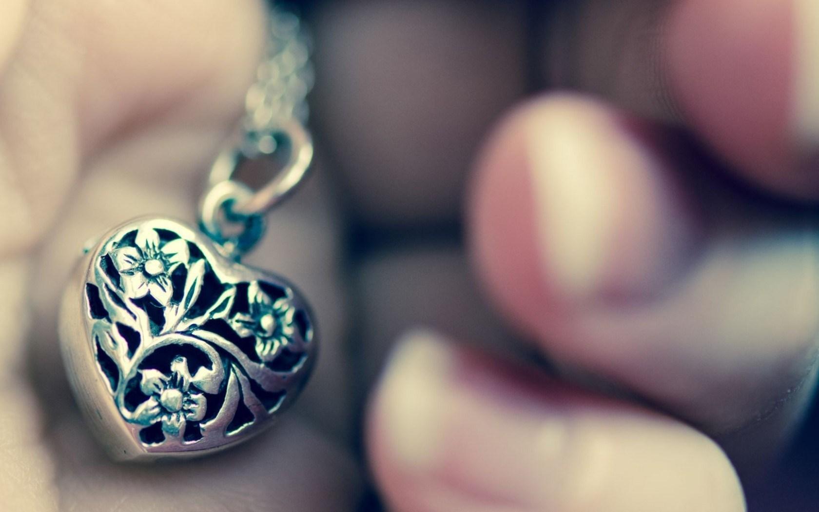 Mood Necklace Pendant Heart Love HD Wallpaper