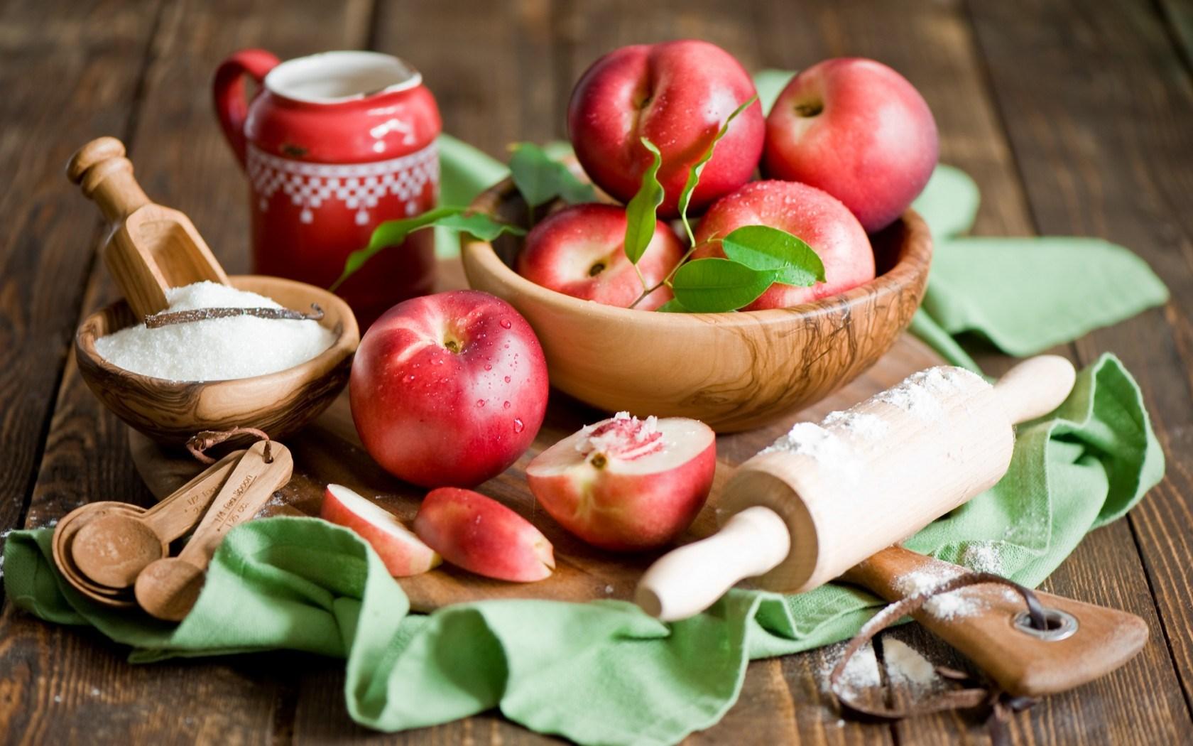 Nectarines Fruit Sugar Still Life