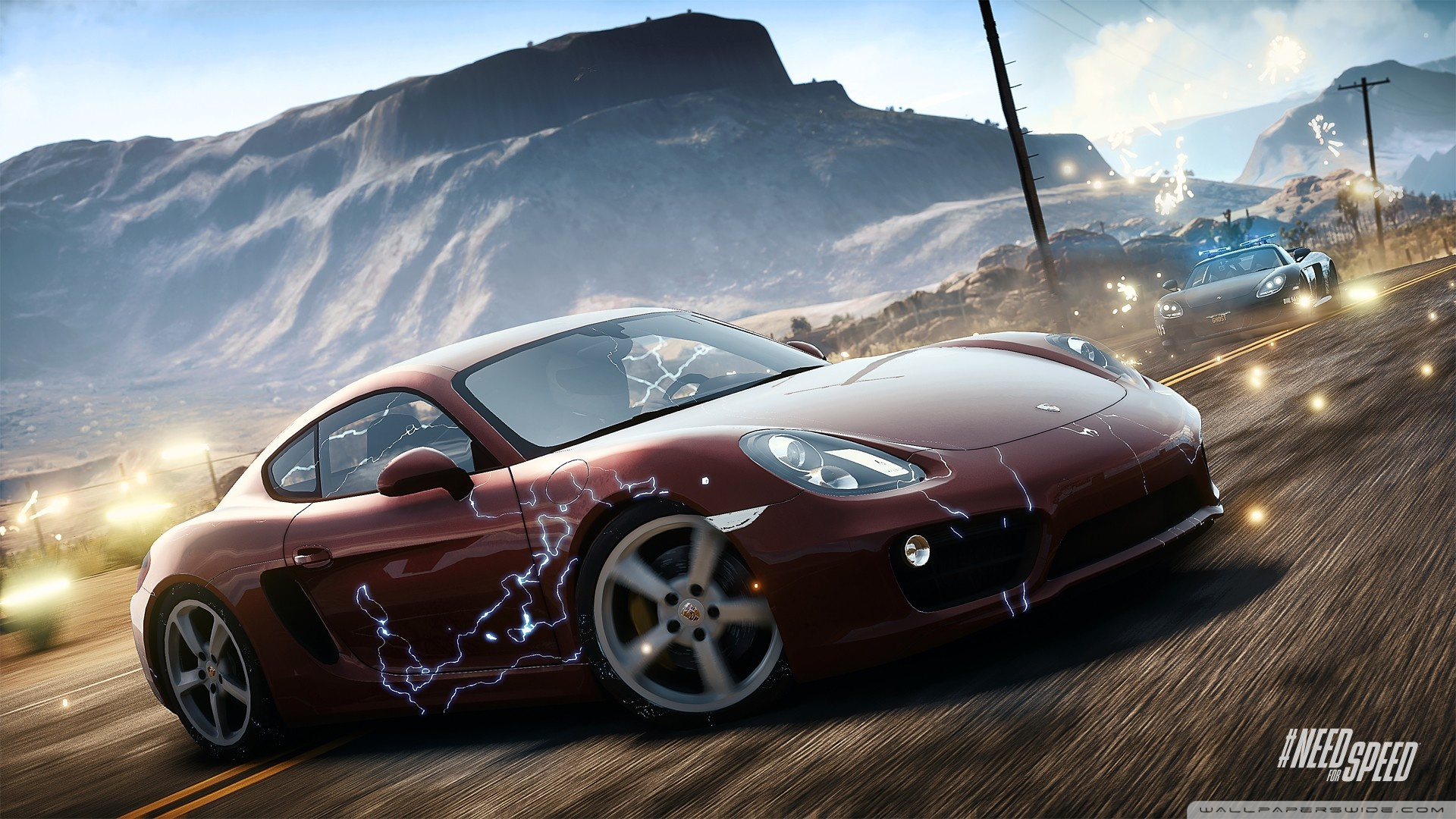 Need For Speed Rivals Emp Deployed HD Wide Wallpaper for Widescreen