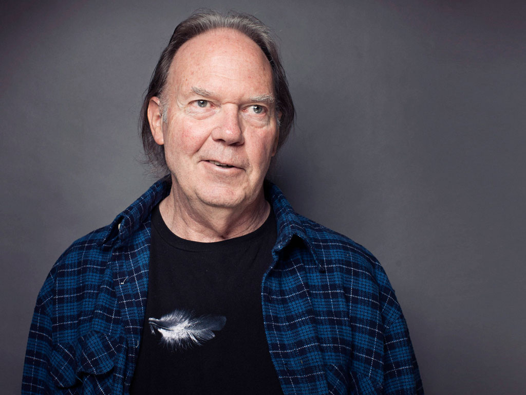 Singer Neil Young on Sept. 27, 2012 in New York. (Associated Press