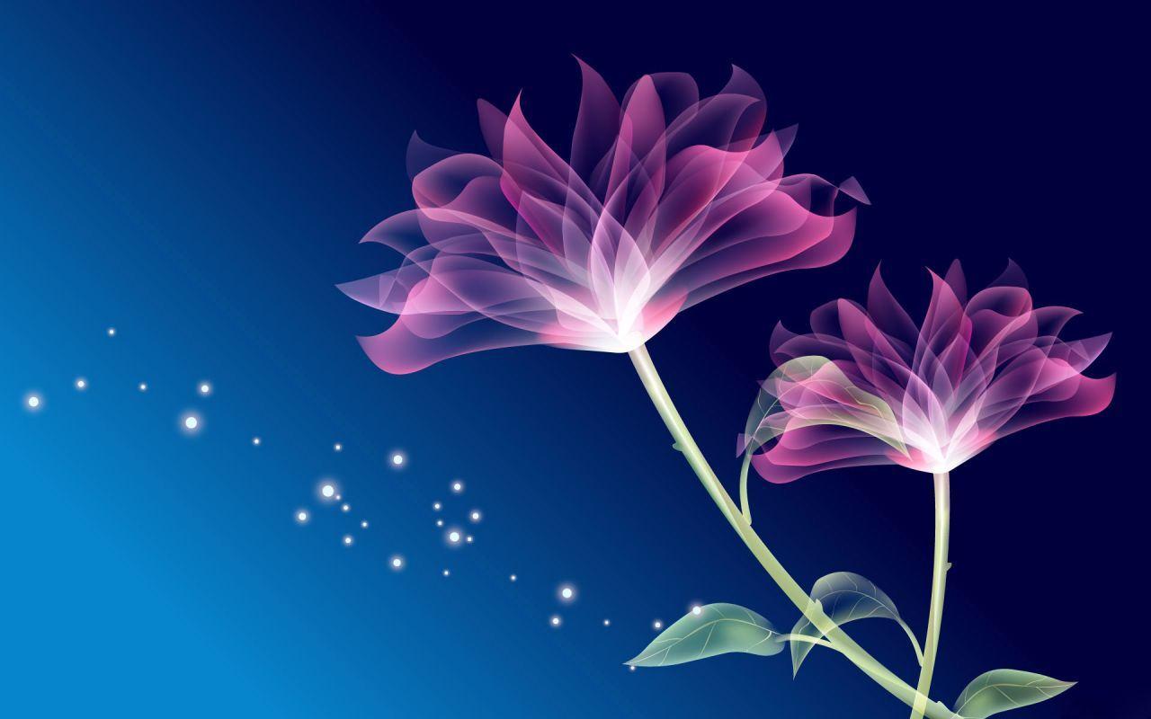 Neon Flowers 13291 1280x800 px