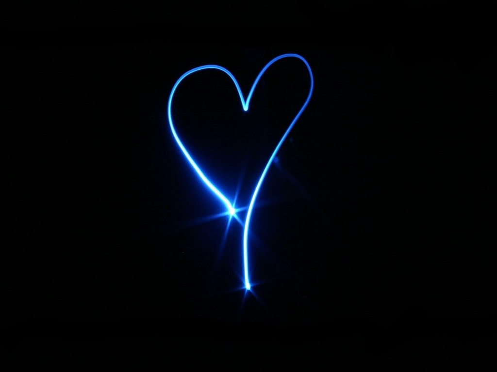 Neon Heart HD Wallpapers