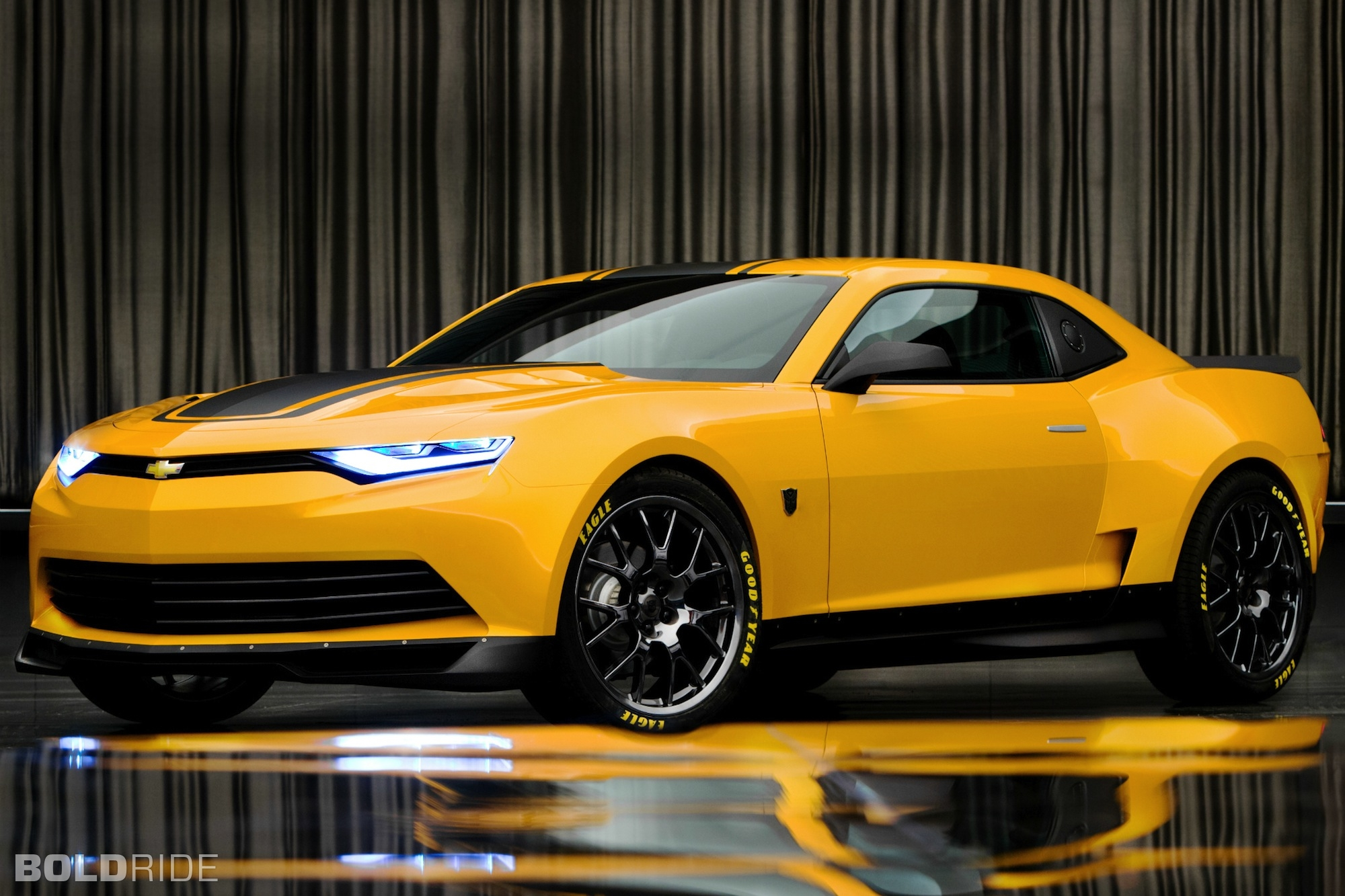 New bumblebee chevy camaro