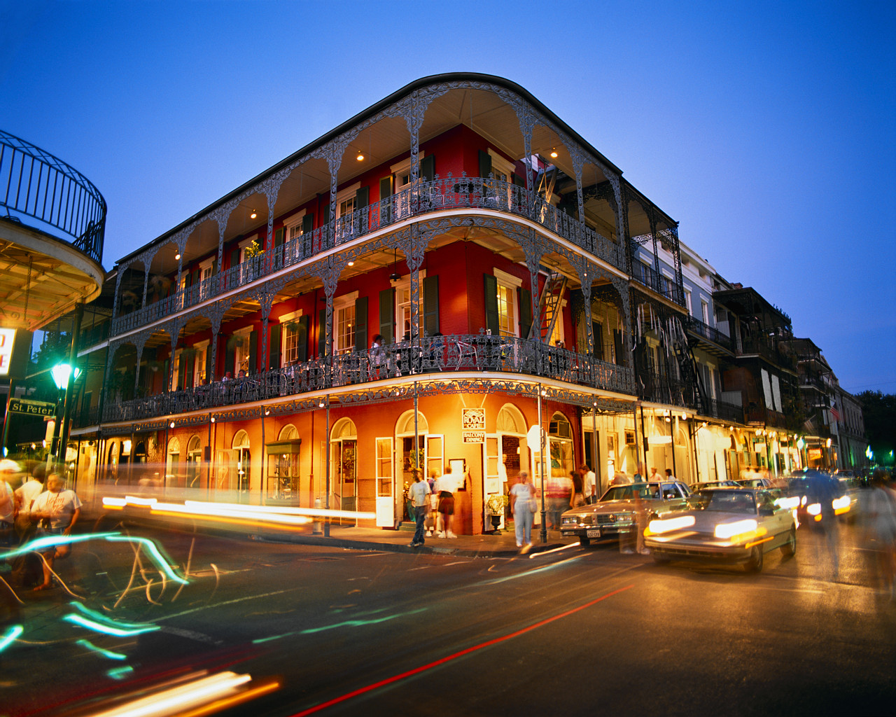 French Quarter at Dusk ...
