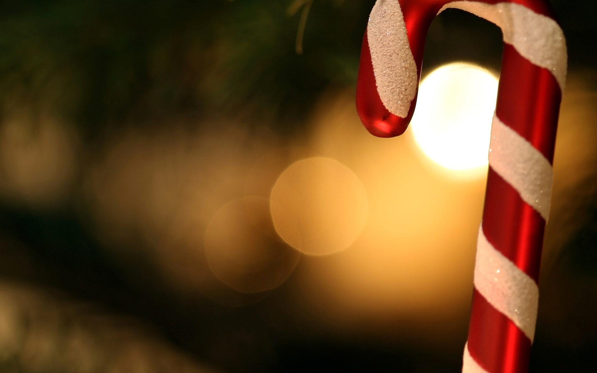 New Year Christmas Stick Bokeh