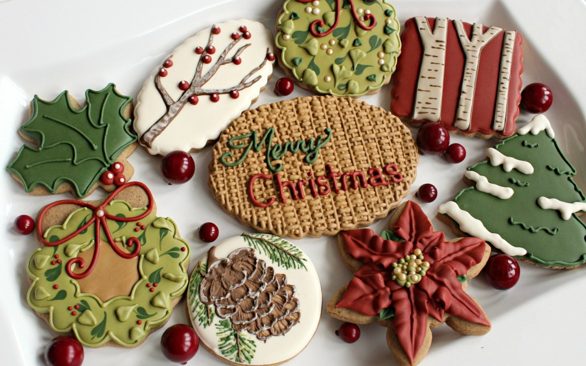 New Year Cookies Dessert Sweets