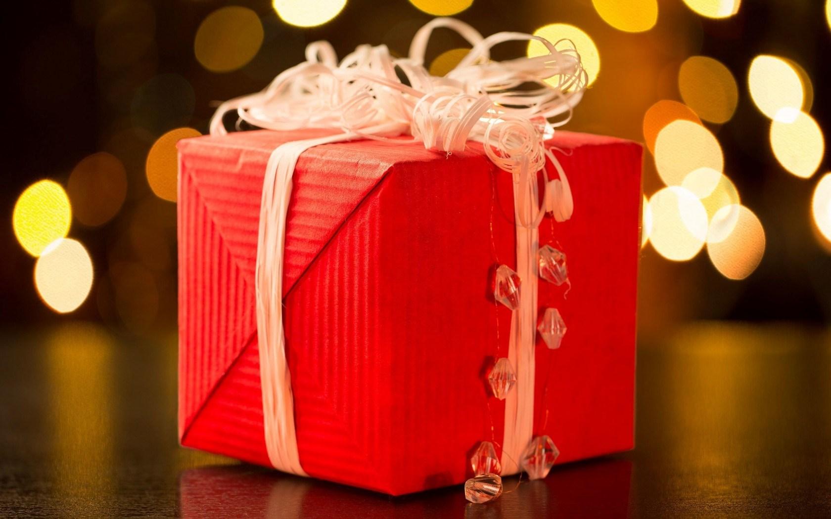 New Year Gift Ribbon Christmas