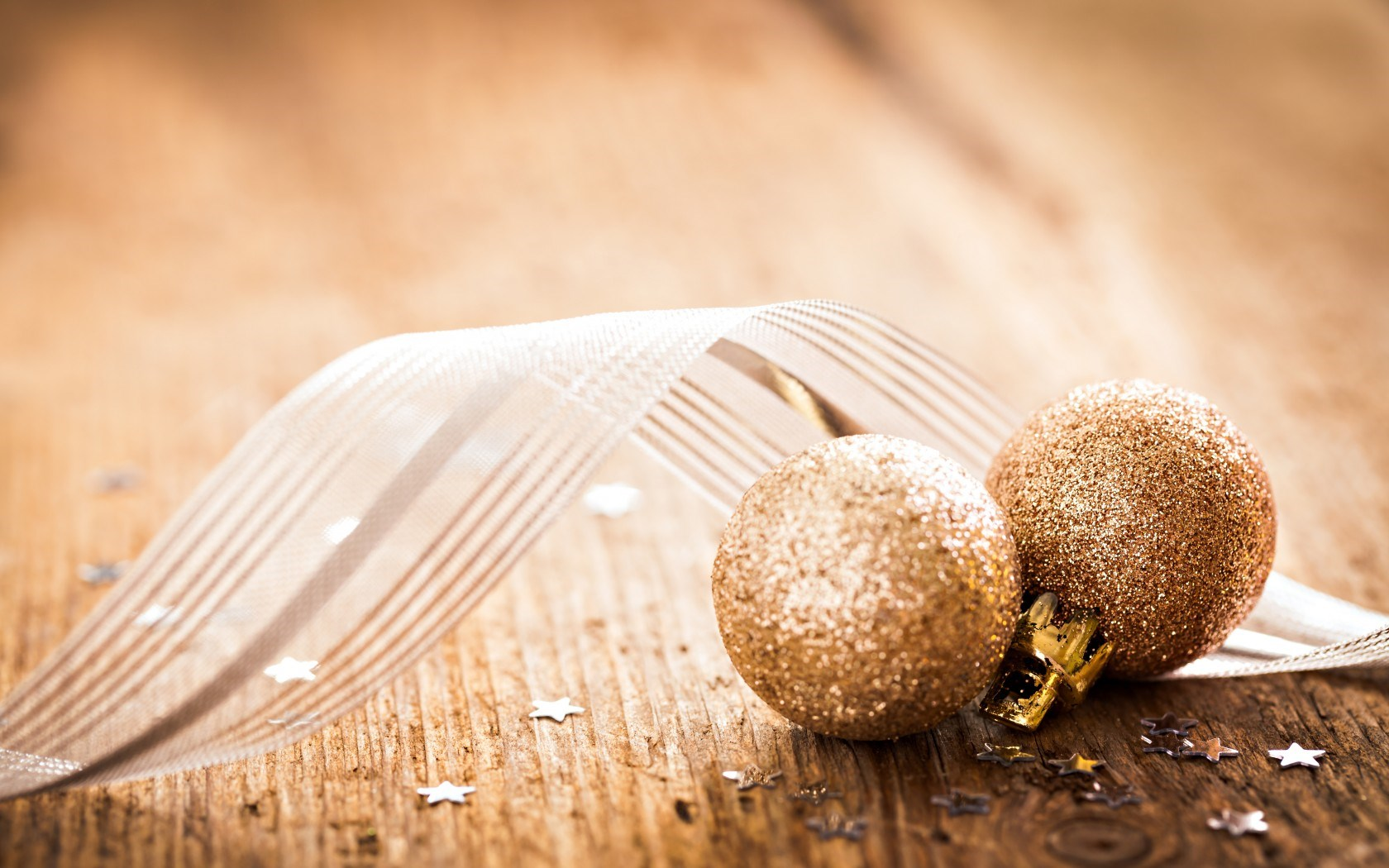 New Year Golden Balls Christmas Ornaments