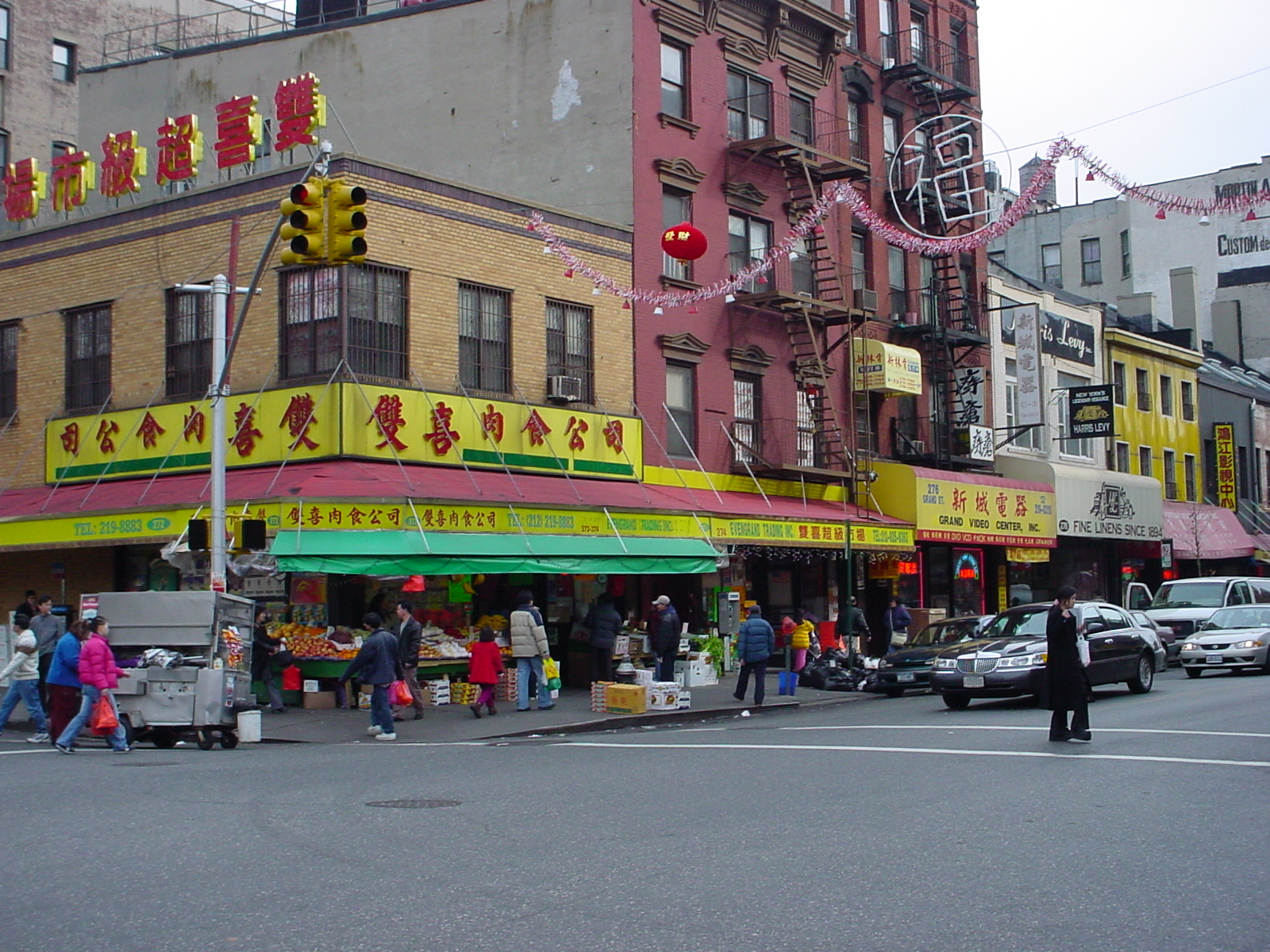 Lower Manhattan, the most widely known Chinatown in NYC.