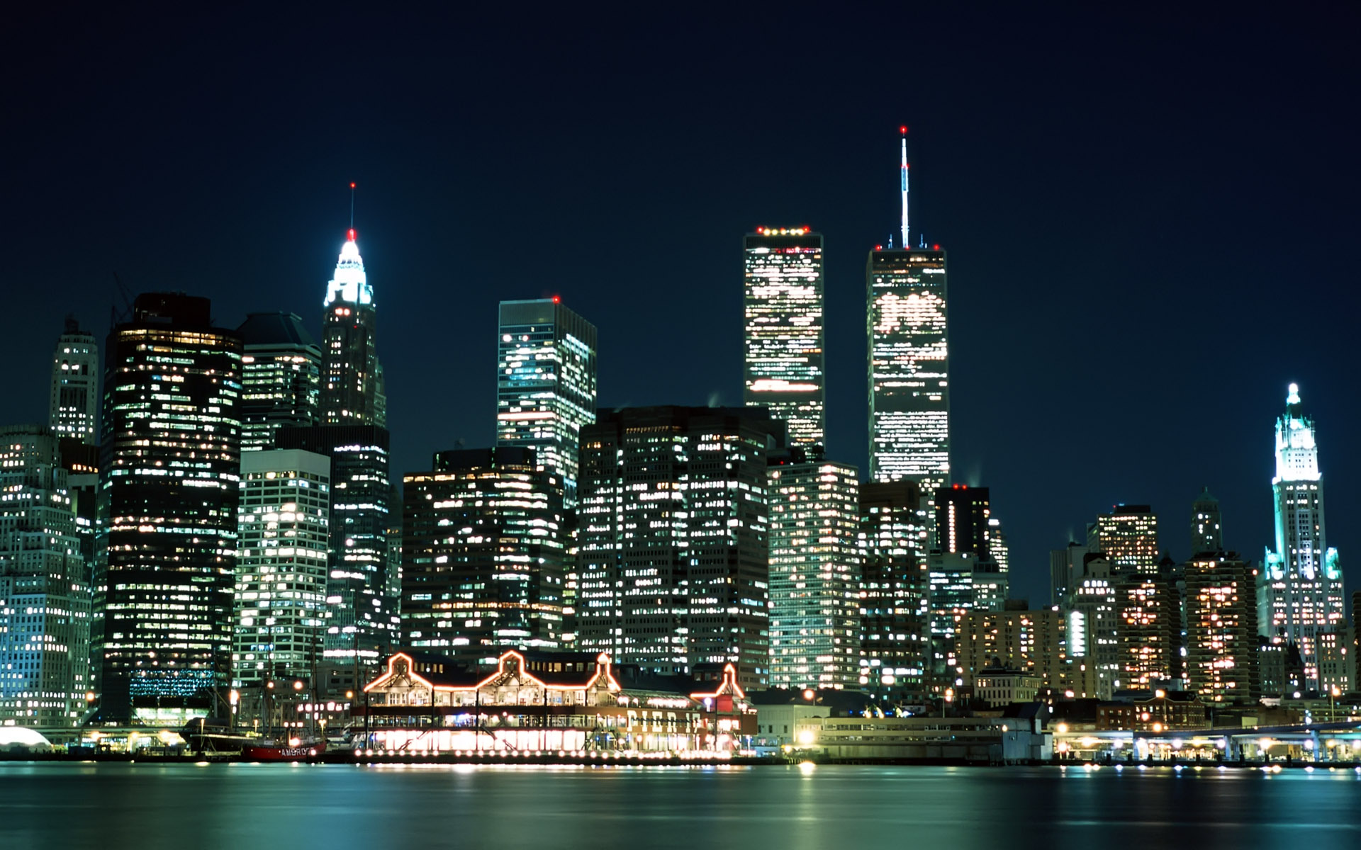 Images and City Lights New York Usa Wallpapers 1920x1200px