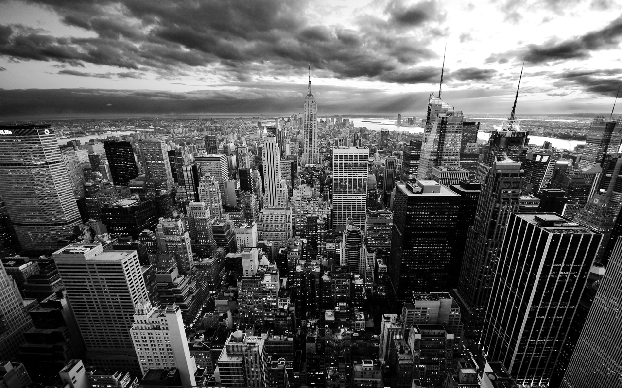 cityscapes new york city monochrome