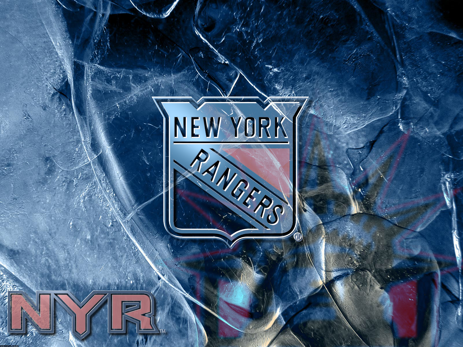 NHL New York Rangers by Realyze