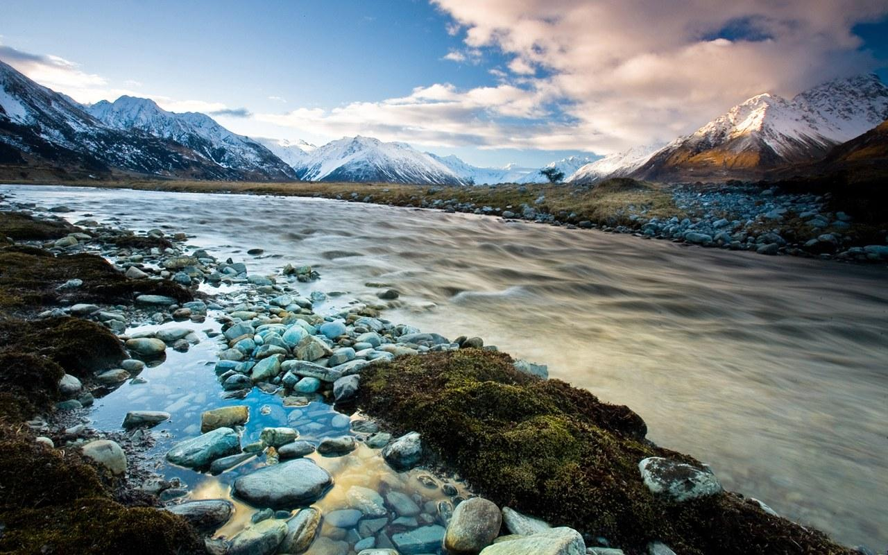 New Zealand picturesque landscapes