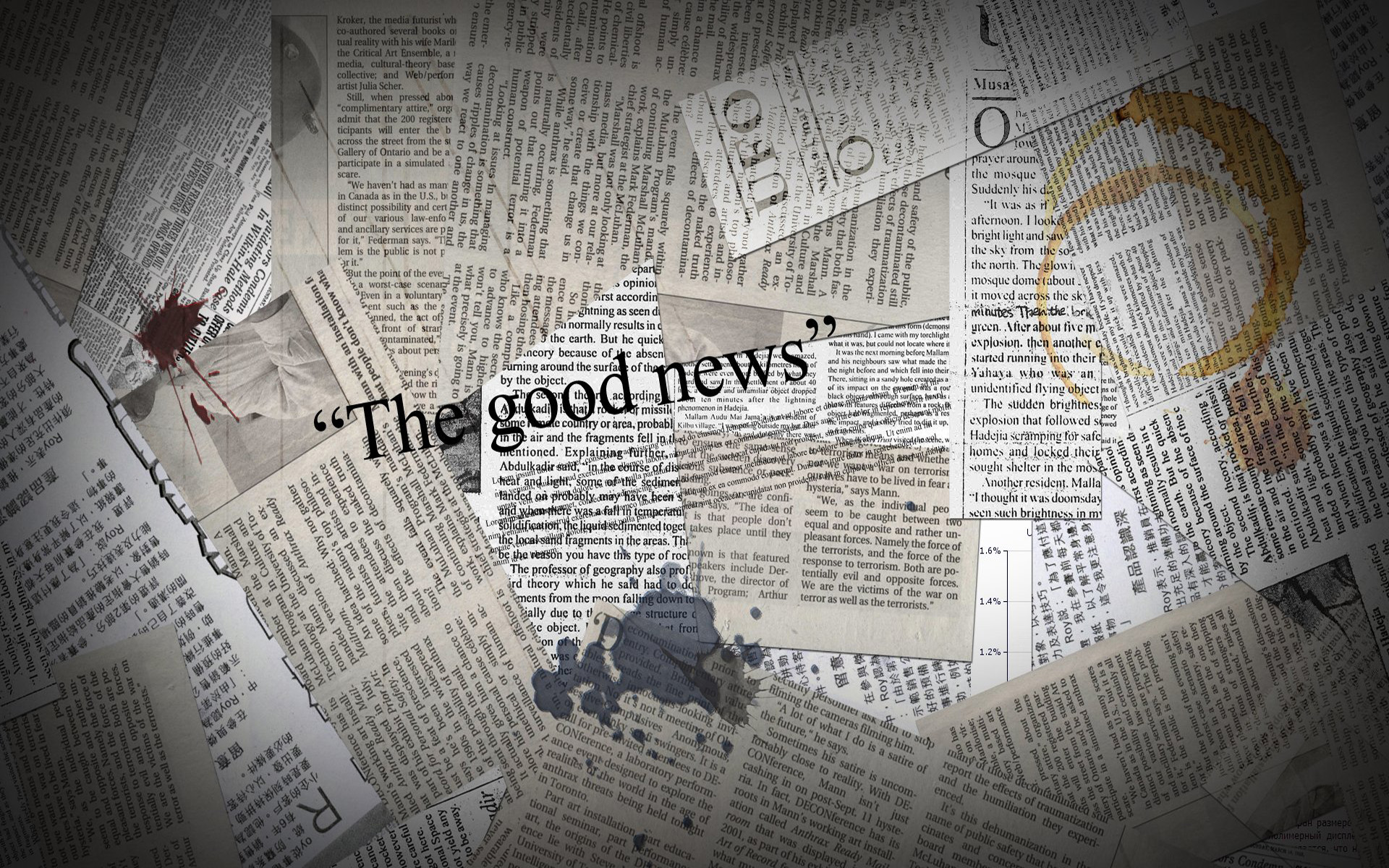 Newspaper Wallpaper