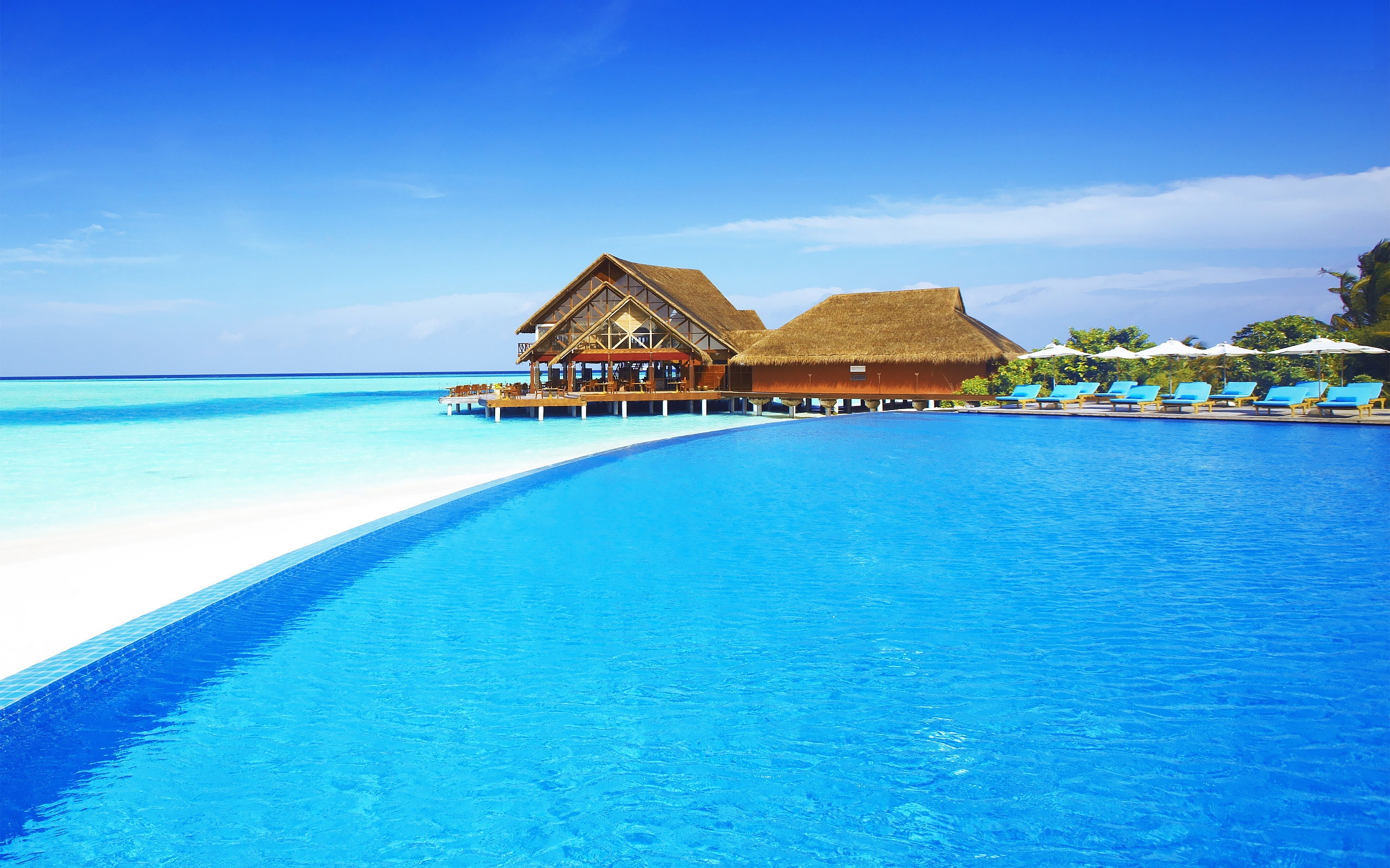 Nice Maldives Beach