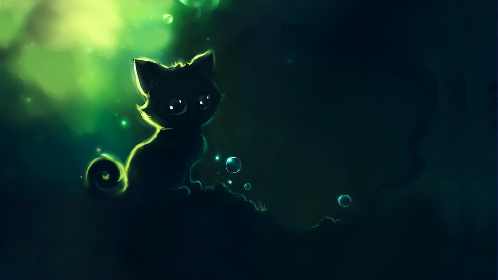 Night Cat Artwork