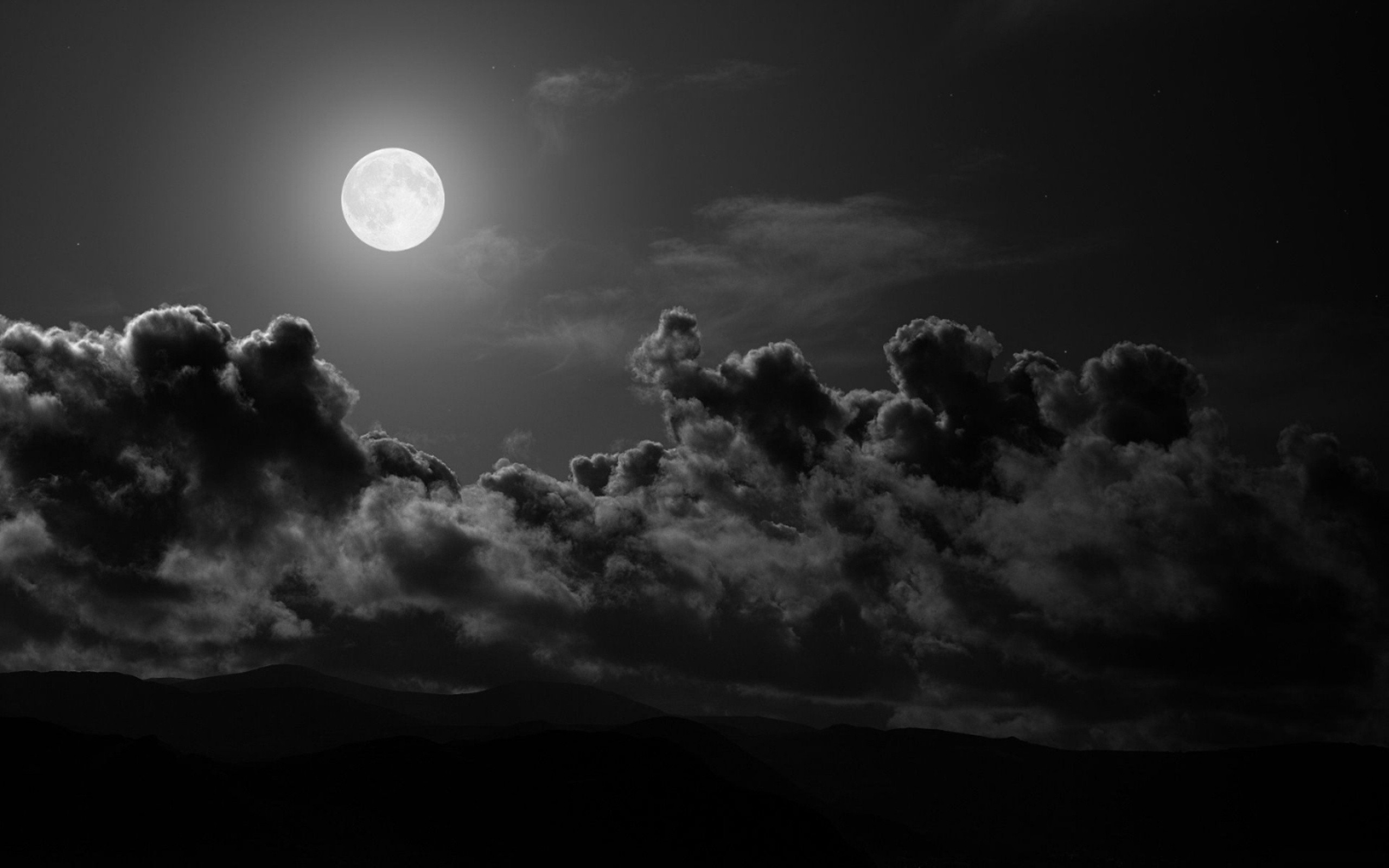 clouds Moon night Pictures and Images