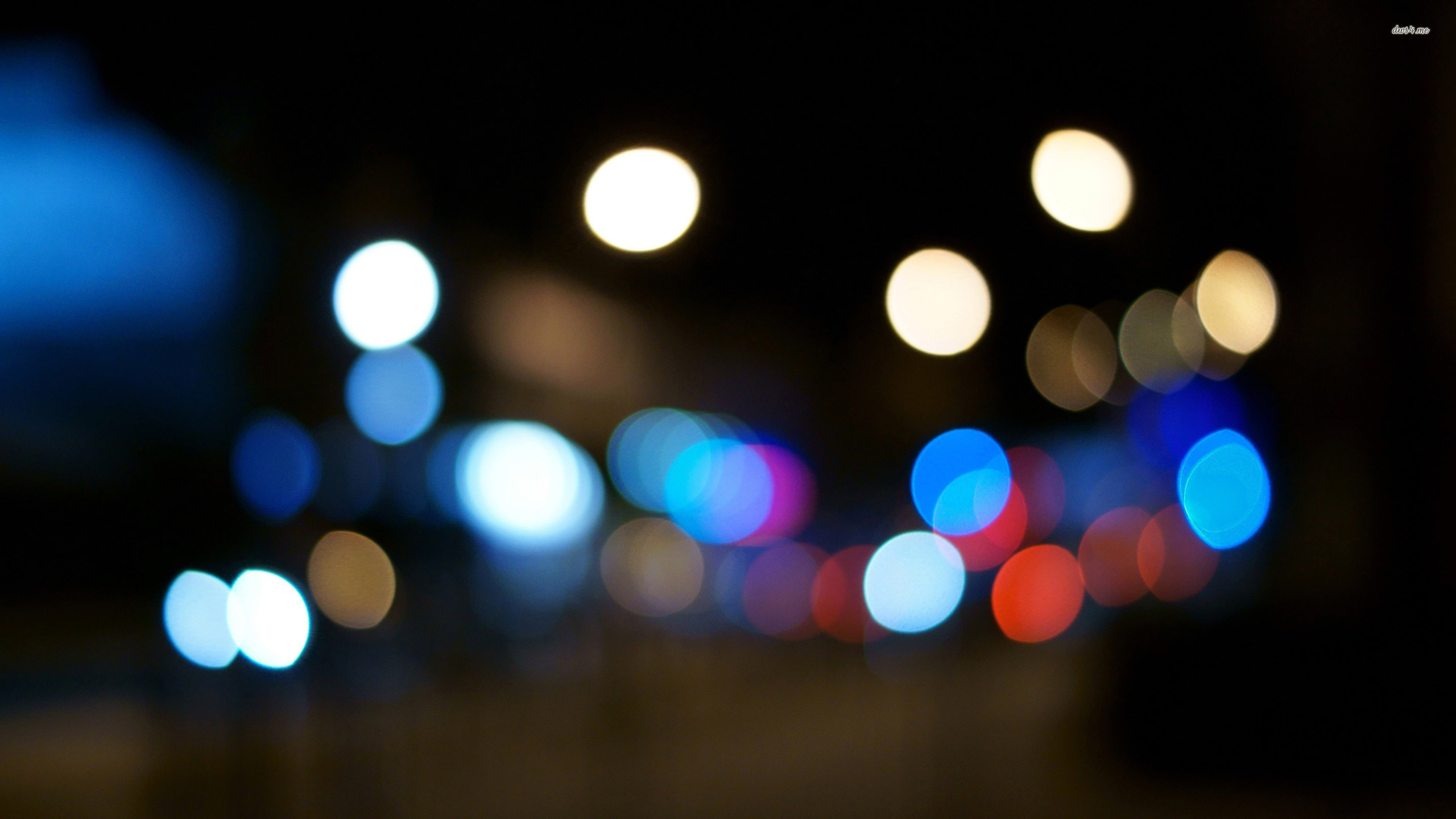 ... Night lights wallpaper 2560x1440 ...
