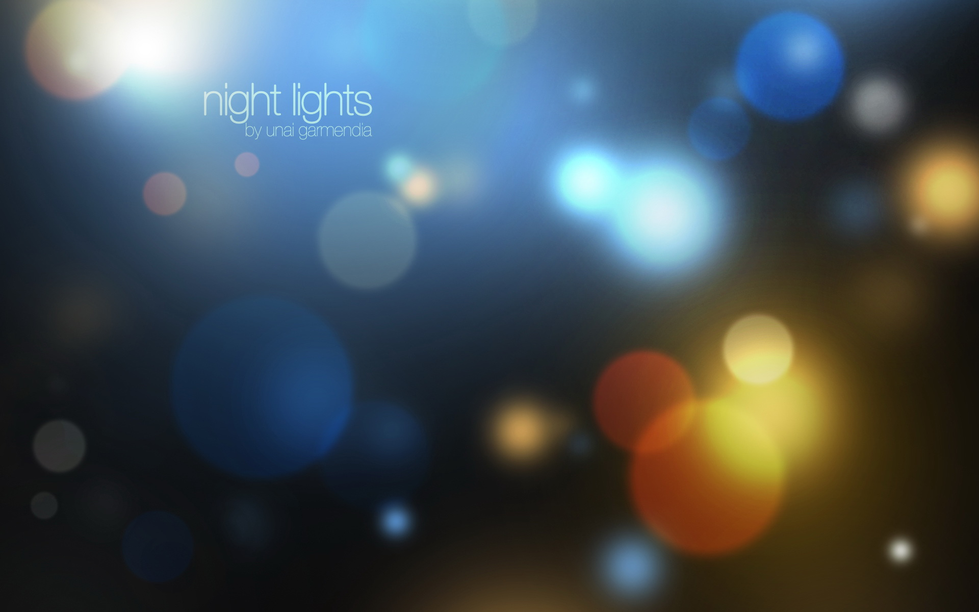 Pattern - Night Lights Wallpaper
