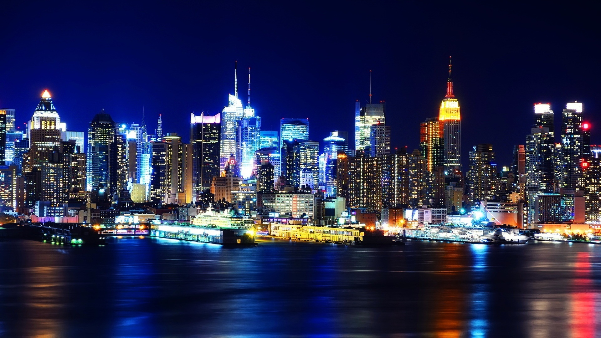Night New York