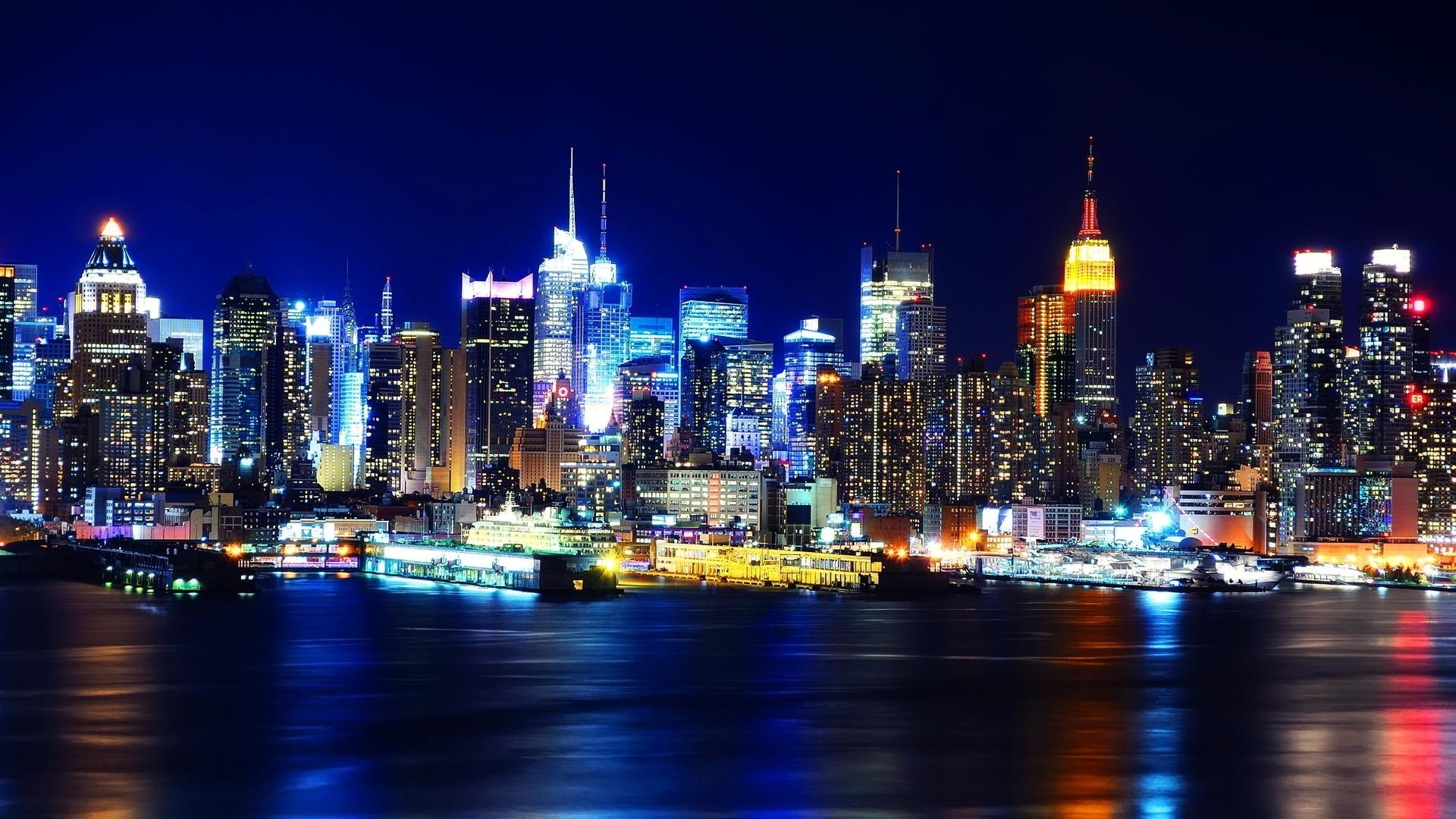 New York City Images At Night 22 Thumb