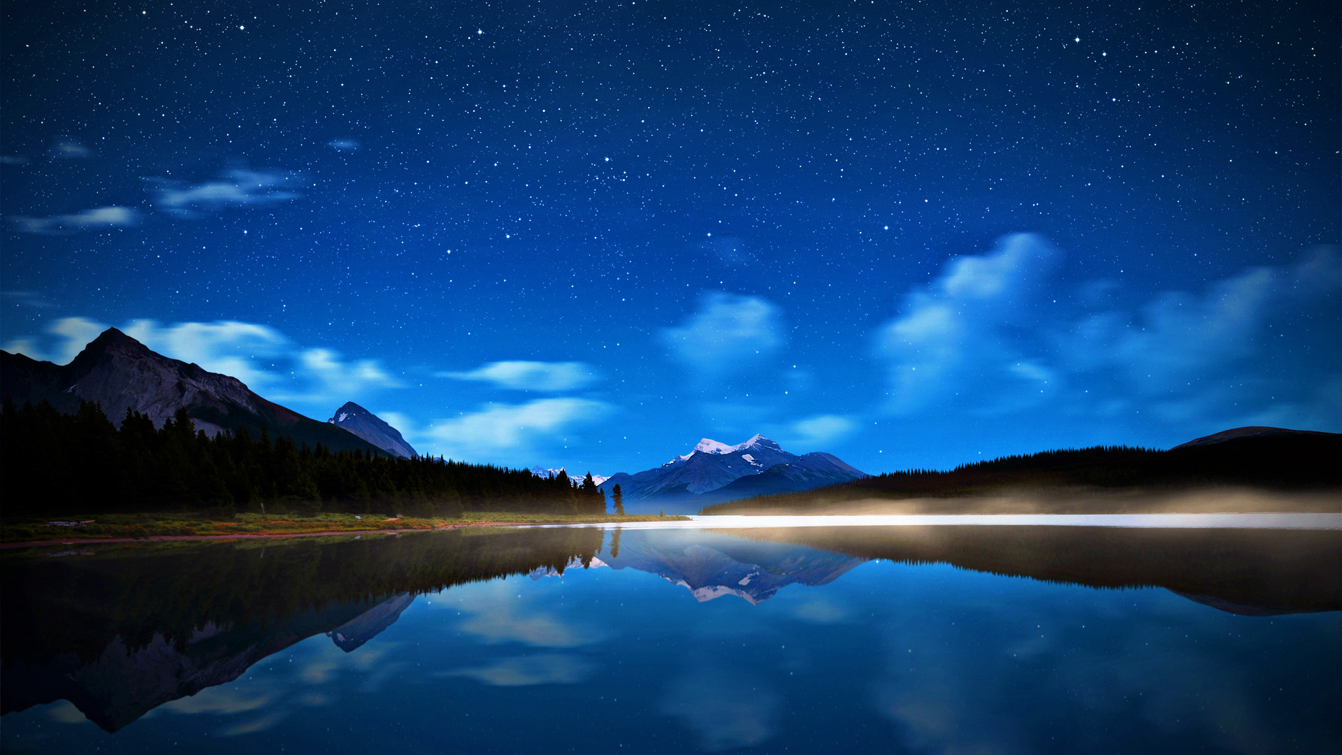 Beautiful Night Sky Wallpaper 46263