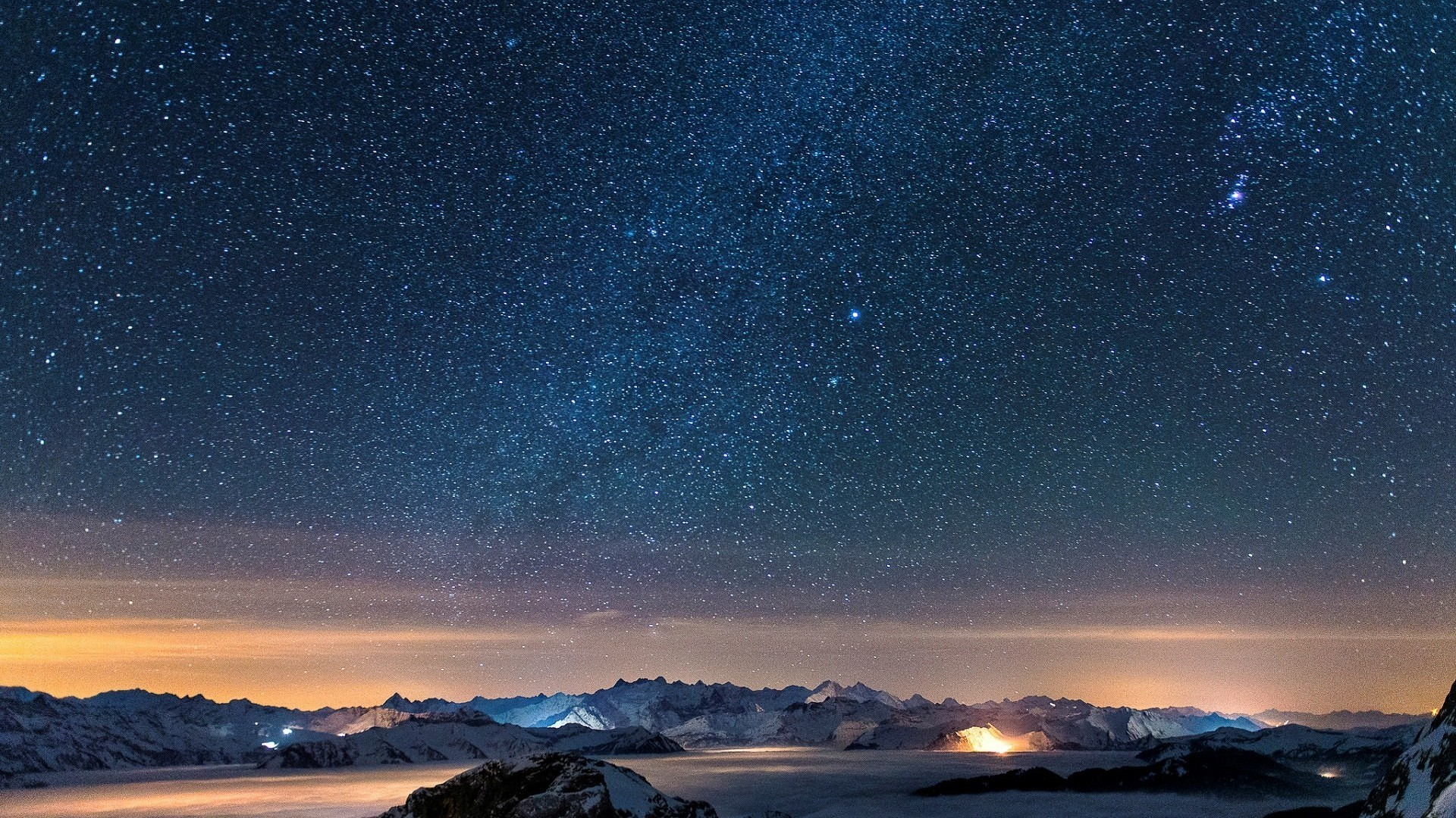 Stars Wallpaper in Nature Picspaper with Night Sky 1920x1080px