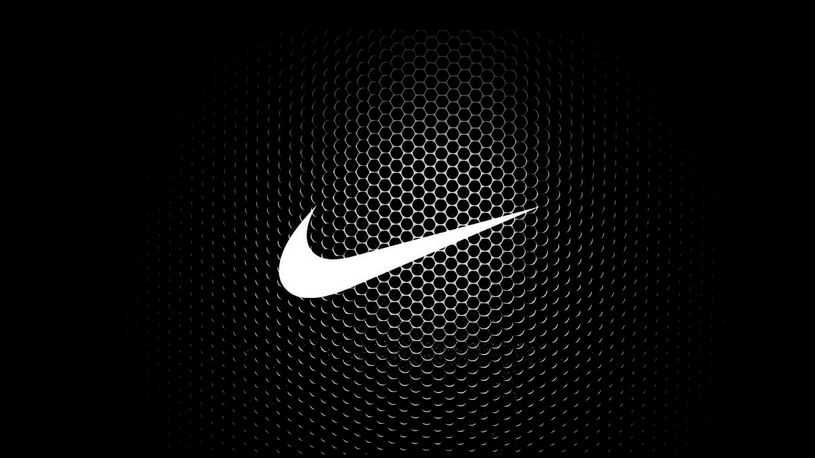 Nike Logo Black 2 Wallpaper HD