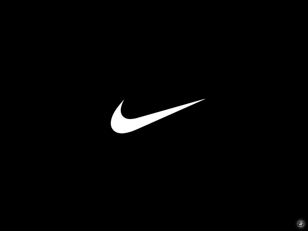 Amusing Black Wallpaper Hd: Marvellous Logo Wallpapers Nike Wallpaper Hd Background 1024x768px