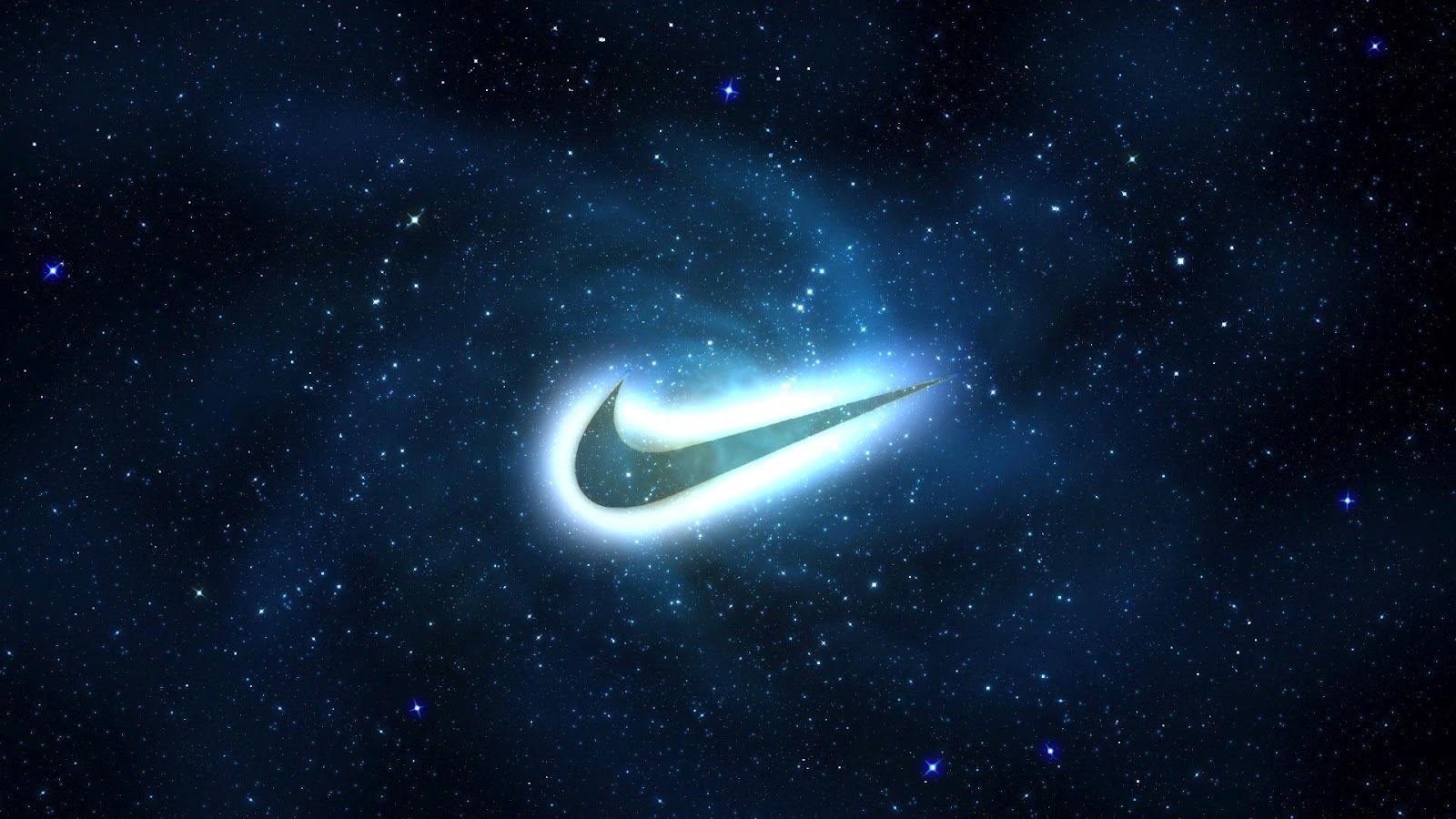 nike logo galaxy wallpapers download