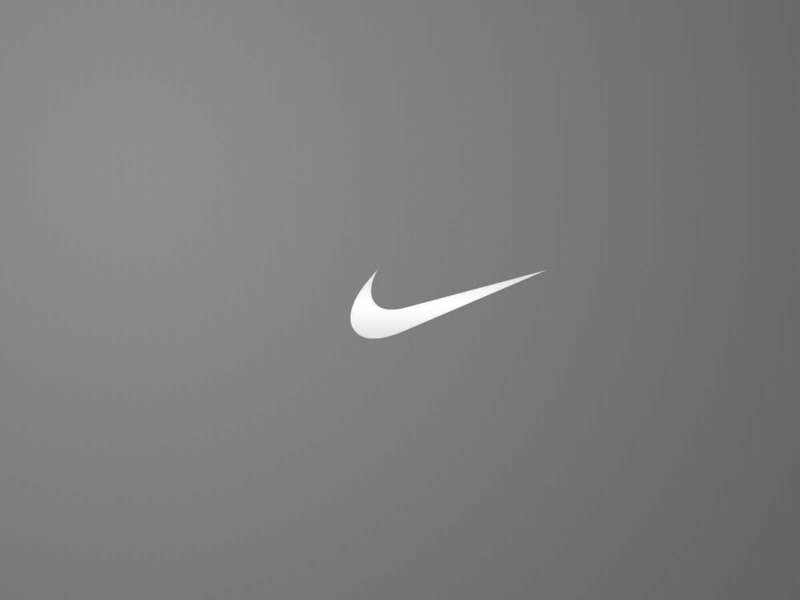 Nike Logo Greyscale Minimal HD Wallpaper