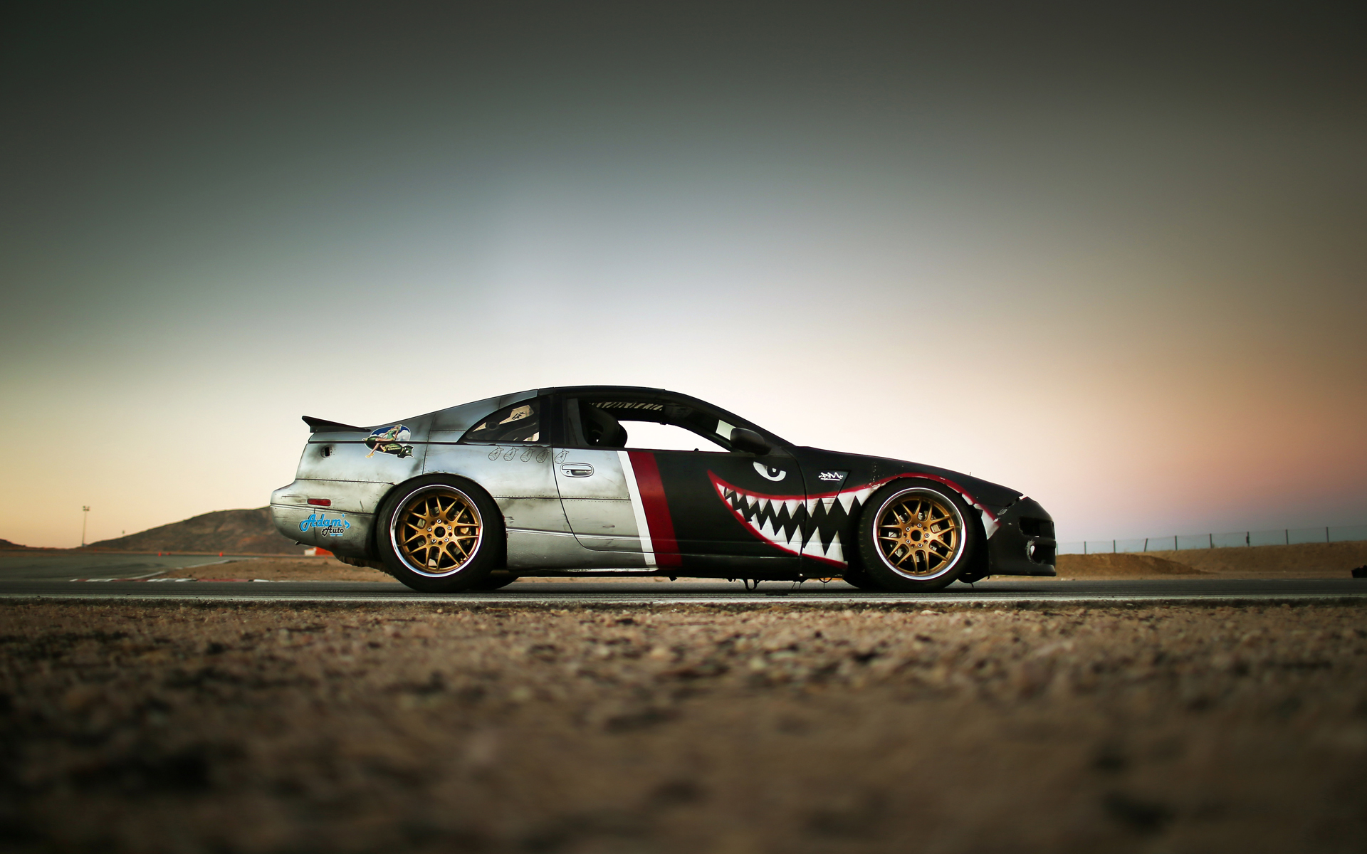 Nissan 300z z32 drift car
