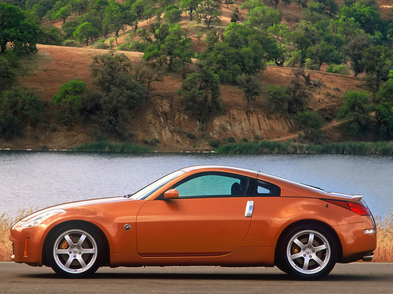 Nissan 350z sunset