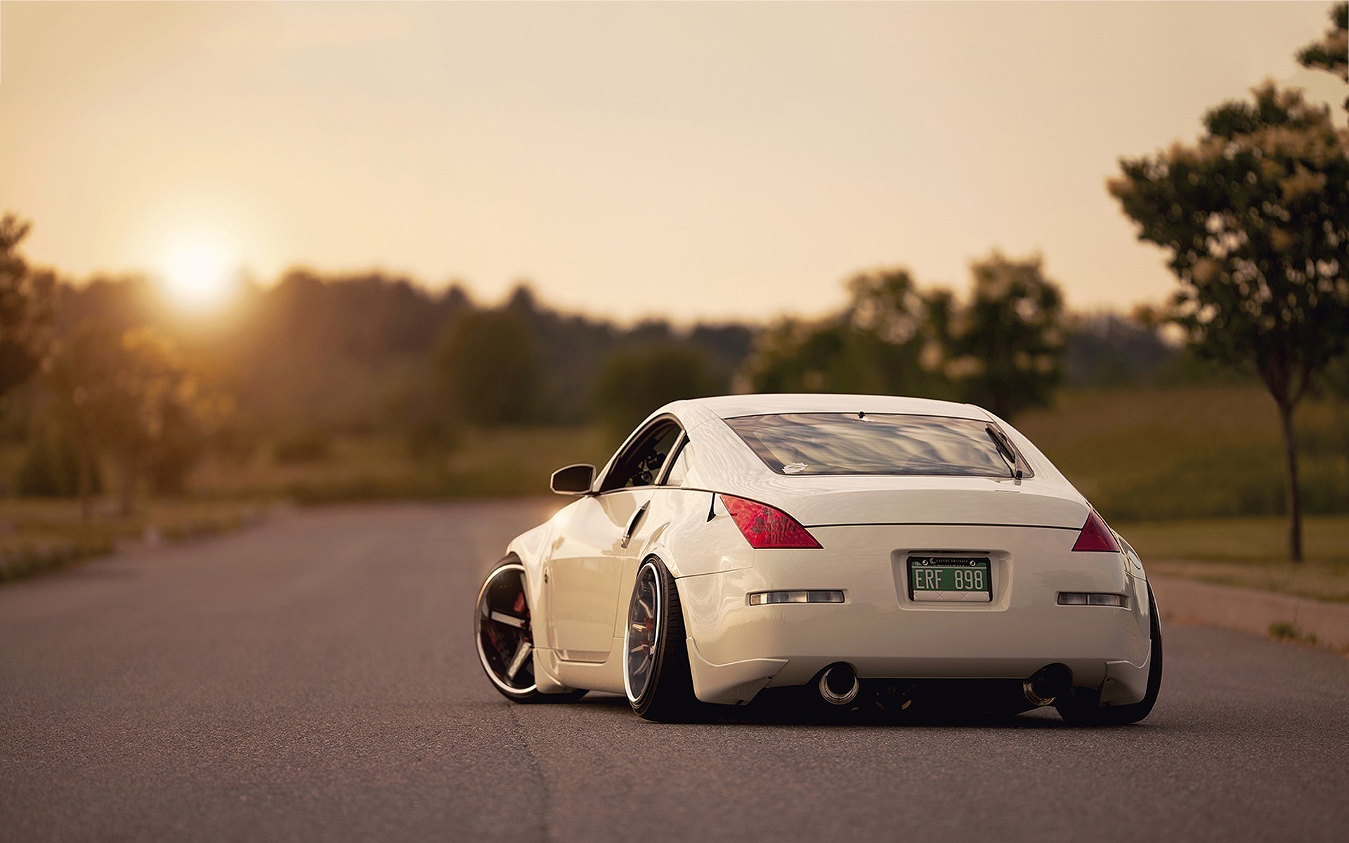 Nissan 350Z Tuning Back